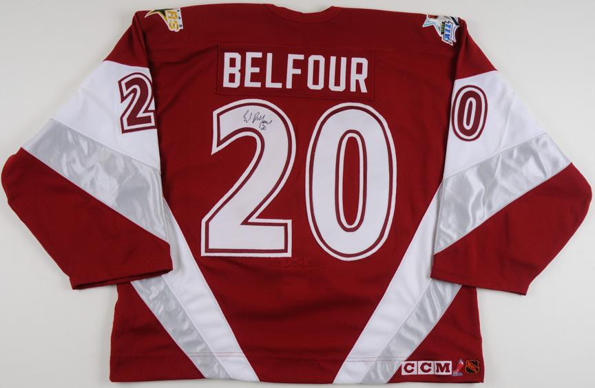 32fb78e0e6ec50 1999 Ed Belfour Nhl All Star Game Worn Jersey