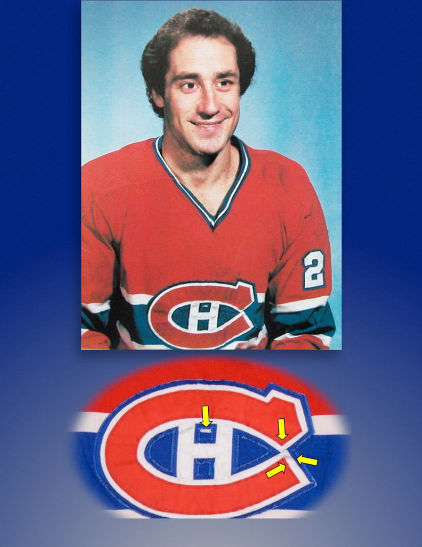 factory price 0d920 a2e20 1977-78 Bob Gainey Montreal Canadiens Game Worn Jersey ...