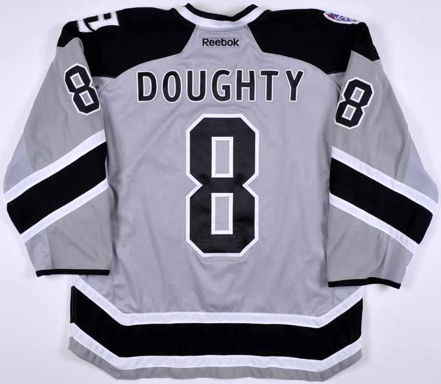 new style 577ac ed64c 2013-14 Drew Doughty Los Angeles Kings Stadium Series Game ...