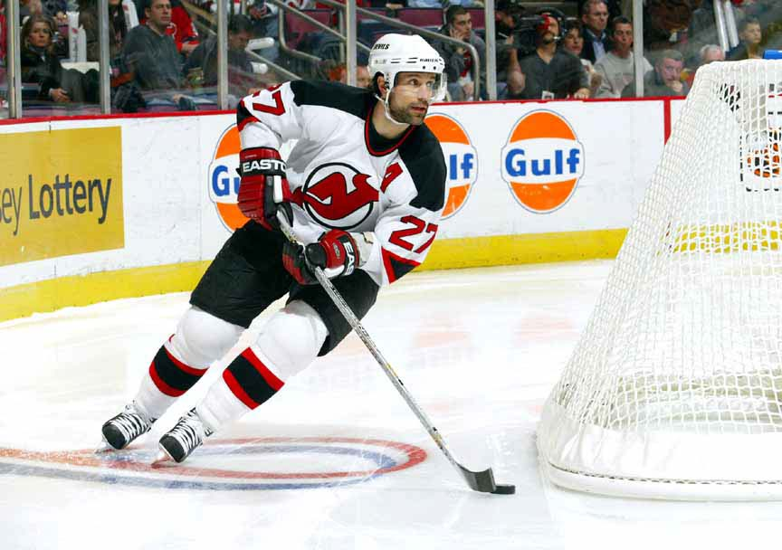 940f15622 Scott Niedermayer New Jersey Devils Silver Easton Game Used Stick ...