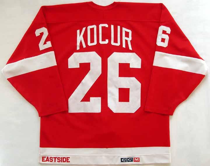 1987-88 Joe Kocur Red Wings Game Worn Jersey  GAMEWORNAUCTIONS.NET 6757e7e7a