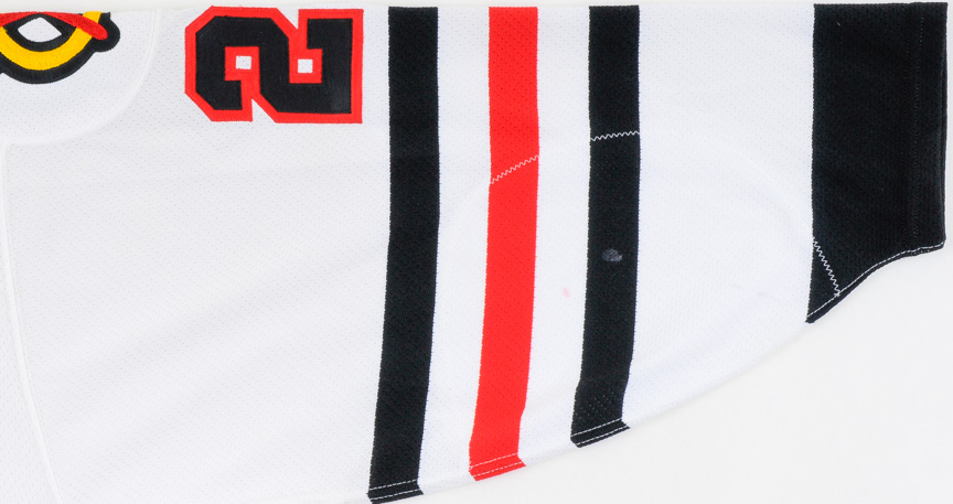1993-94 Jeremy Roenick Chicago Blackhawks Game Worn Jersey - All ... 224302161
