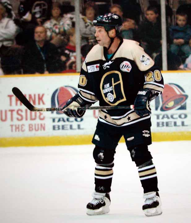 2004-05 Kevin Kerr UHL Flint Generals Game Worn Jersey -