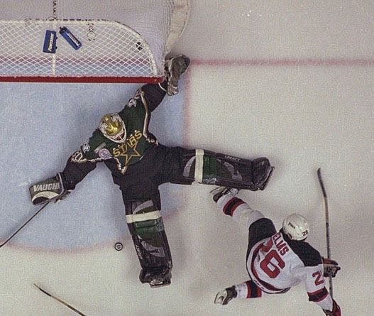 7861b8bd93e65e 1999-00 Ed Belfour Dallas Stars Stanley Cup Finals Game Worn Jersey ...