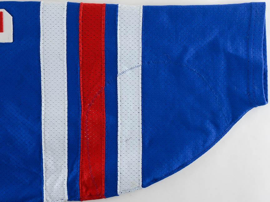 1995-96 Jari Kurri New York Rangers Game Worn Jersey