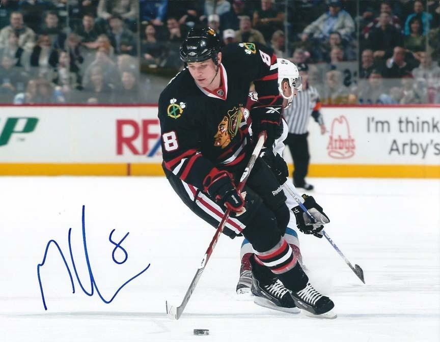 2008-09 Matt Walker Chicago Blackhawks Game Worn Jersey