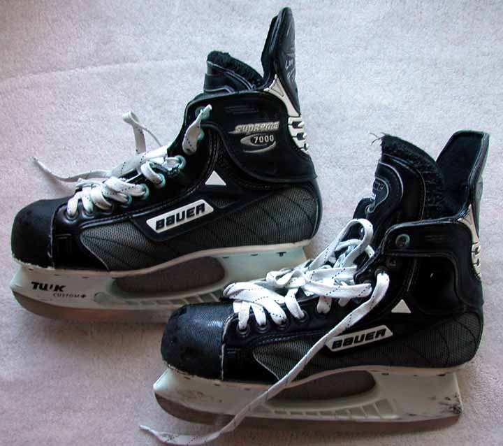 90d3aa7d5 Brett Hull Game Worn Skates - Worn on 12 31 99 When He Scored His ...