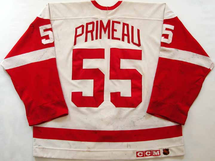 1993-94 Keith Primeau Red Wings Game Worn Jersey  GAMEWORNAUCTIONS.NET 114220a74