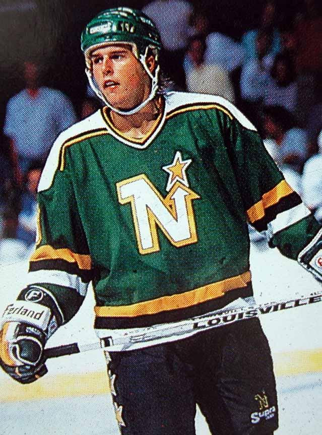 on sale ce4a2 5b72e 1988-89 Mike Modano Minnesota North Stars Game Worn Jersey ...