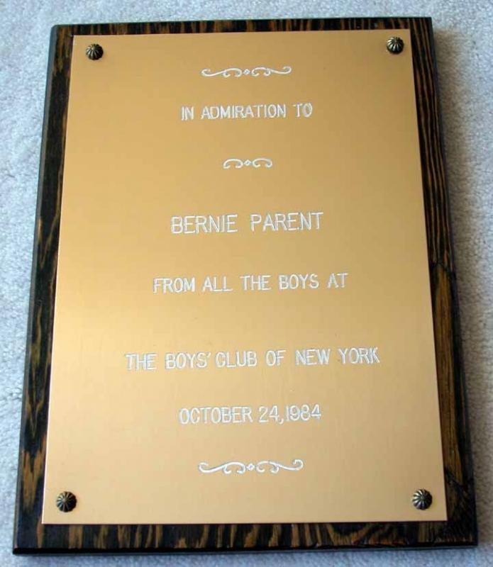 Letter Plaques 2 Congratulatory Plaque Displays Parent Letter