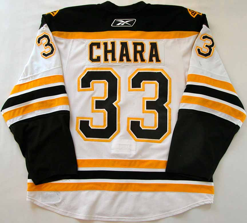 2009-10 Zdeno Chara Boston Bruins Game Worn Jersey - Photo Match ... af87013a2