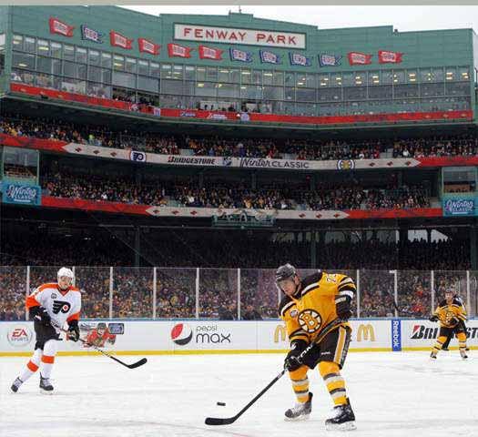 2009-10 Michael Ryder Boston Bruins Winter Classic Game