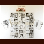 Washington Capitals Autographed Group of  (56) – Includes Deceased and a 1976-77 Team Photo