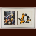 Mario Lemieux Pittsburgh Penguins Autographed Matted & Framed Display – Steiner COA