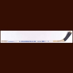 Keith Tkachuk Winnipeg Jets White Louisville Game Used Stick