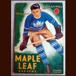 February 12, 1937 Toronto Maple Leafs Full Program