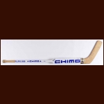 Bill Ranford Edmonton Oilers White Chimo Game Used Stick – Autographed – Stanley Cup Season