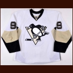 2011-12 Pascal Dupuis Pittsburgh Penguins Game Worn Jersey - Photo Match – Team Letter