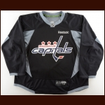 2011-12 John Carlson Washington Capitals Practice Worn Jersey