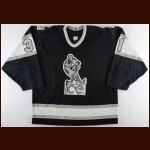 1988-89 Doug Dadswell Indianapolis Ice Game Worn Jersey
