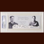 "Fred ""Steamer"" Maxwell Autographed Card - The Broderick Collection - Deceased"