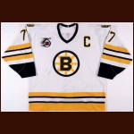 1991-92 Ray Bourque Boston Bruins Game Worn Jersey