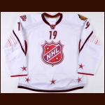 2011 Jonathan Toews NHL All Star Game Issued Jersey – NHL Letter