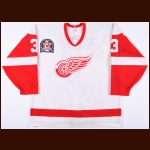 "1994-95 Bob Rouse Detroit Red Wings Stanley Cup Finals Game Worn Jersey – ""1995 Stanley Cup Finals"""