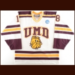 2003-04 Dan Kronick University of Minnesota-Duluth Game Worn Jersey - 2004 NCAA Regionals
