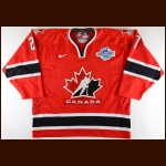 "2004 Scott Niedermayer Team Canada World Cup of Hockey Game Worn Jersey – ""2004 World Cup of Hockey"" - World Cup Finals - Championship Winning Game - Photo Match – NHL/NHLPA Letter"