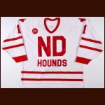 1990's Notre Dame Hounds Game Worn Jersey – Player #1