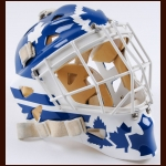 Rick Wamsley Calgary Flames & Toronto Maple Leafs Game Worn Harrison Mask - 1989 Stanley Cup - Photo Match - The Rick Wamsley Collection – Rick Wamsley Letter