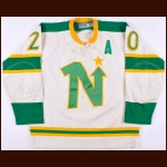 1967-68 Minnesota North Stars Pre-Season Game Worn Jersey – Player #20 - 1st ever set of North Stars Gamers