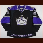 2008-09 Patrick O'Sullivan Los Angeles Kings Game Worn Jersey - Photo Match – Team Letter