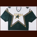 2003-04 Ron Tugnutt Dallas Stars Pre-Season Game Worn Jersey – Team Letter