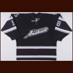 2003-04 Michael Holmqvist Anaheim Ducks Game Worn Jersey – Alternate - Rookie