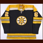 1969-70 & 1970-71 Don Awrey Boston Bruins Stanley Cup Finals Game Worn Jersey - Photo Match - Video Match