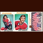 1975-76 Topps Philadelphia Flyers Autographed Card Group of 25 – Rick MacLeish, Ross Lonsberry & Fred Shero (Deceased)