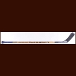 Charlie Huddy Edmonton Oilers Sher-Wood Game Used Stick