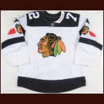 "2015-16 Artemi Panarin Chicago Blackhawks Stadium Series Warm Up Jersey – Rookie – ""2016 Minnesota Stadium Series"" - Calder Trophy – NHLPA Letter"