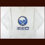 1995-96 Darryl Shannon Buffalo Sabres Practice Worn Jersey - The Darryl Shannon Collection – Darryl Shannon Letter