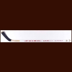 Stephane Richer New Jersey Devils White Chimo Game Used Stick – Autographed