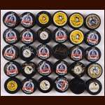Pittsburgh Penguins Autographed Puck Group of 30