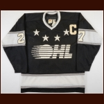Mid 1980's Shayne Corson OHL All Star Game Worn Jersey