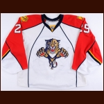 2009-10 Tomas Vokoun Florida Panthers Game Worn Jersey - Photo Match – Team Letter