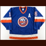 1989-90 Pat LaFontaine New York Islanders Game Worn Jersey – Career Best 54 Goal Season – All Star Season – The Terrence Murphy Collection – Joe Murphy Letter