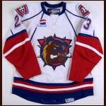 2008-09 Max Pacioretty Hamilton Bulldogs Game Worn Jersey - Rookie - AHL Letter - University of Michigan Alum