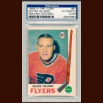1969-70 OPC Wayne Hillman Philadelpia Flyers Autographed Card – Deceased – PSA/DNA