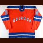 1972-73 Gary Kurt WHA New York Raiders Game Worn Jersey - Inaugural Season - The Twin Cities WHA Find