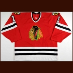 1988-89 Ed Belfour Chicago Blackhawks Game Worn Jersey – Rookie - First NHL Jersey - Photo Match - Video Match - Retired Number